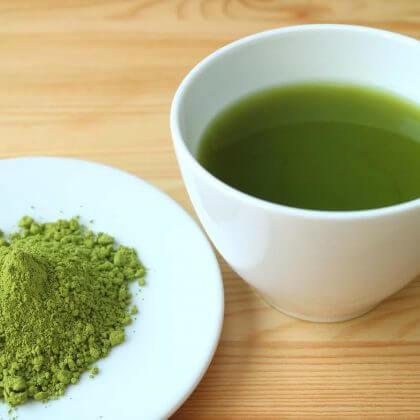 green kratom tea