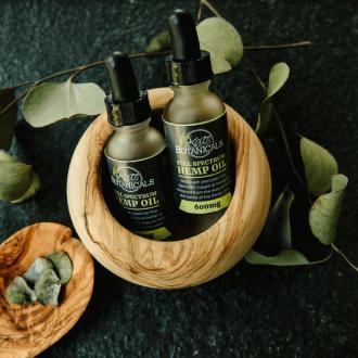 hemp oil and CBD oil