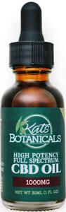 cbd hemp oil isolated
