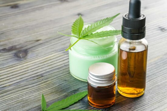 cbd and beauty products