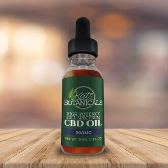 Blueberry CBD Oil 500mg
