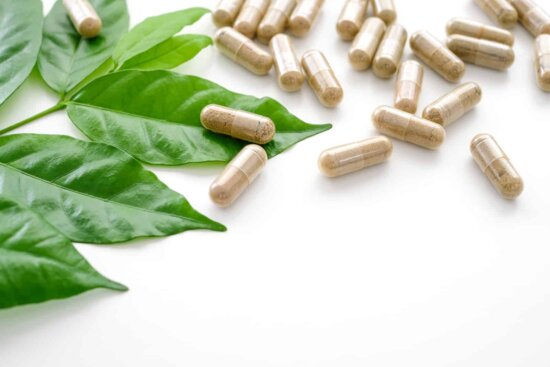 Nutritional herb vitamin capsule supplement