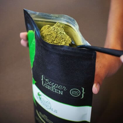 green vein kratom powder
