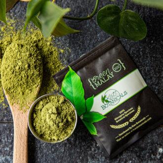 kats green malay kratom powder