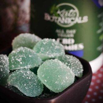 berry CBD Gummies close up