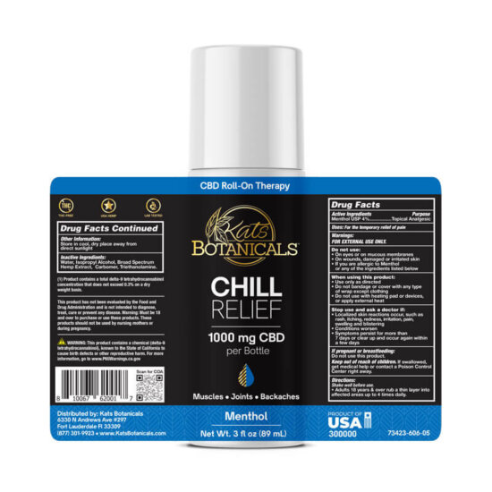 1000mg Chill relief exploded