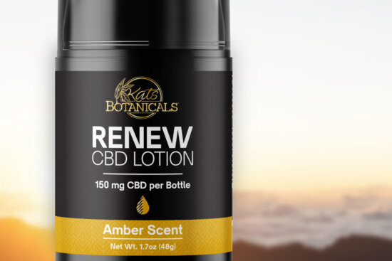 CBD lotion hero