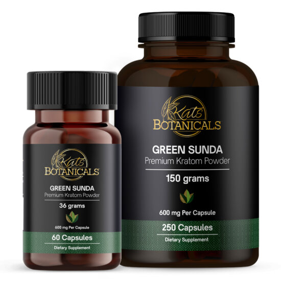 kats botanicals green sunda capsules.