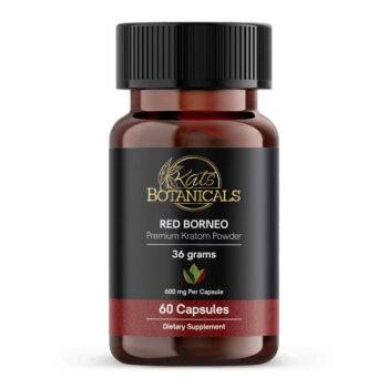 kratom capsules - Red Borneo