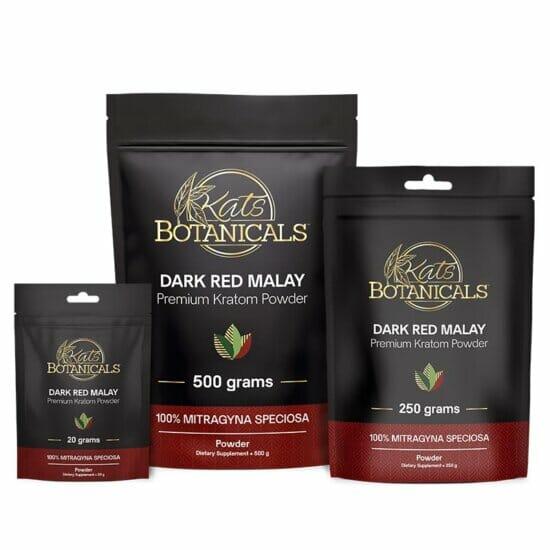 Dark Red Malay Kratom Powder