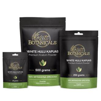 White Hulu Kapuas Kratom Powder
