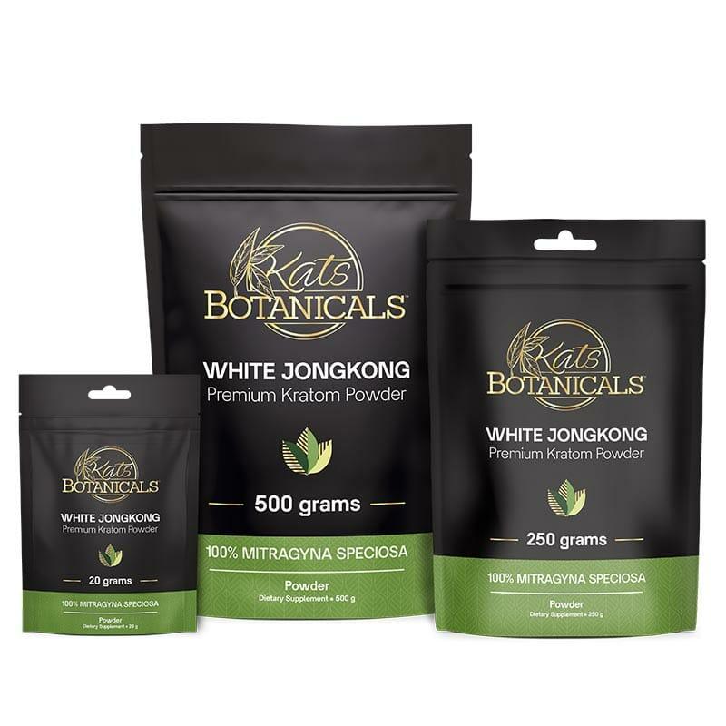 White JongKong Kratom Powder