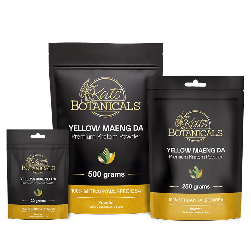 Yellow Maeng Da Kratom Powder