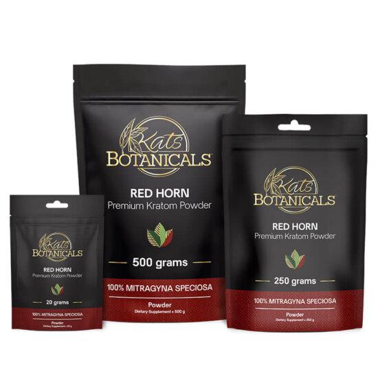 Red Horn Kratom Powder 250 grams
