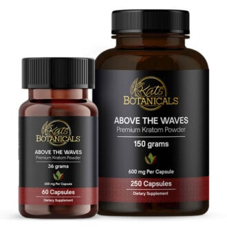 Above the Waves Kratom capsules