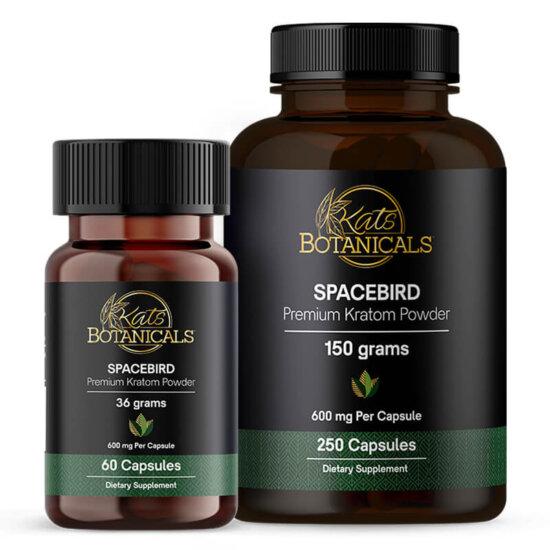 Spacebird Kratom capsules
