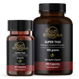 Super Thai Kratom capsules